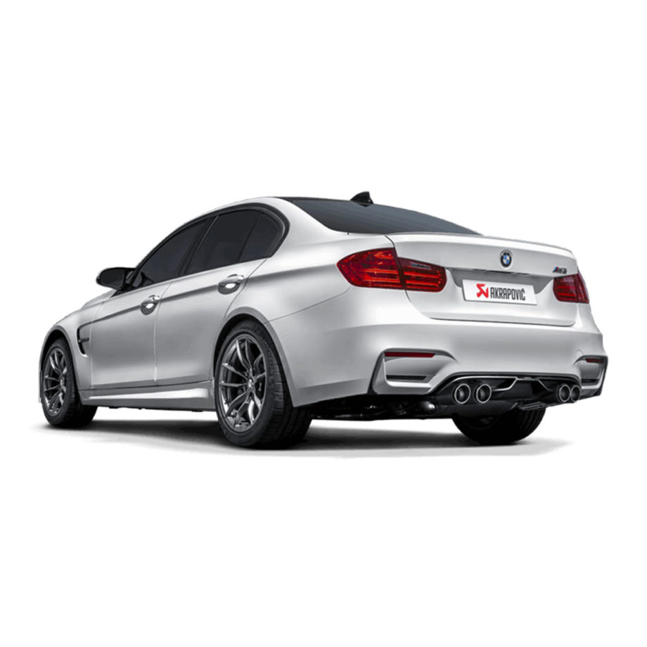 ESCAPE AKRAPOVIC SLIP ON BMW M3 F80